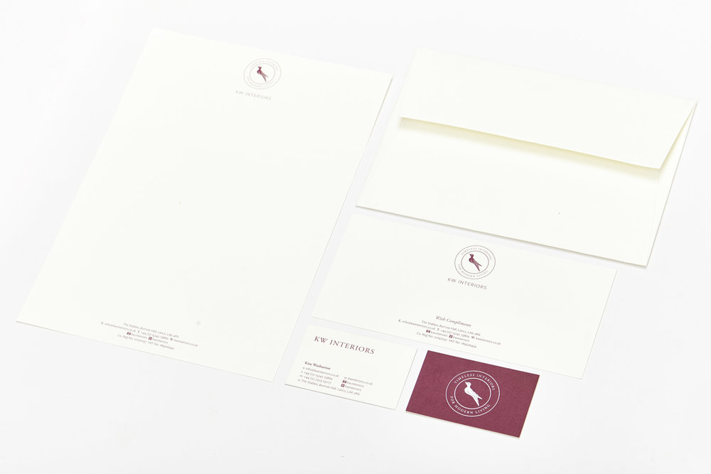 Logo & brand identity for KW Interiors