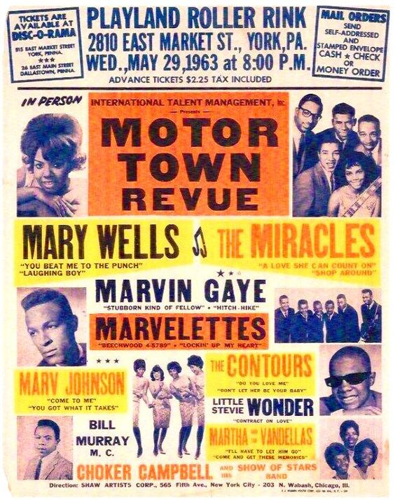 Dick Clark's gig posters | Pictures From Motown