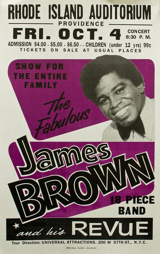 James Brown - Globe Poster Printing Corporation