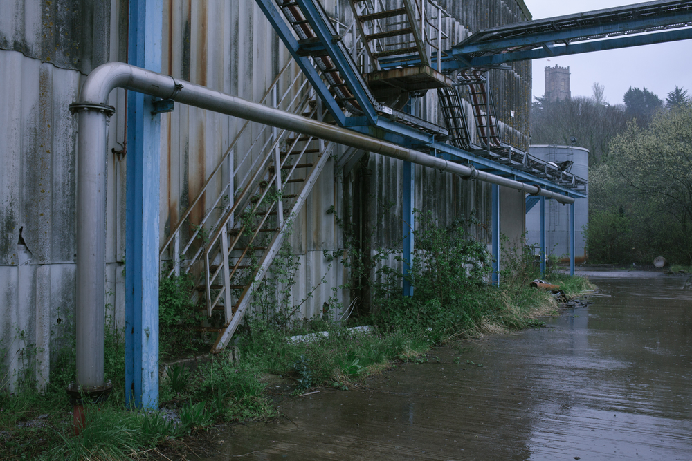 devon paper factory empty documentary photography