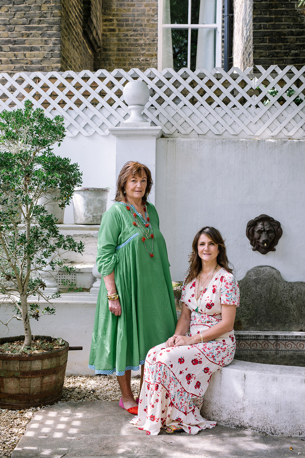 Penny Morrison and Sarah Vanrenen for Town and Country