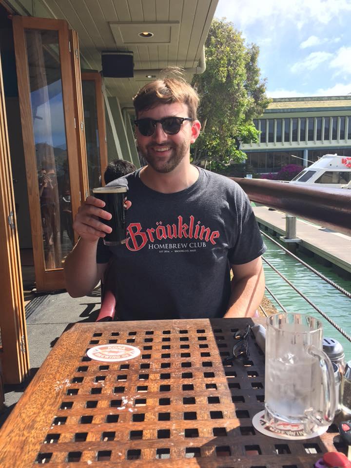 Reppin' Braukline in Hawaii!