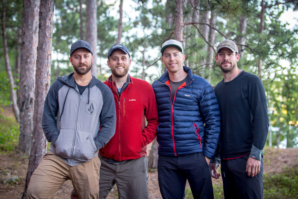 Save Wolf Lake Photography Team: Christoph, Ian, Rob & James (from left to right)