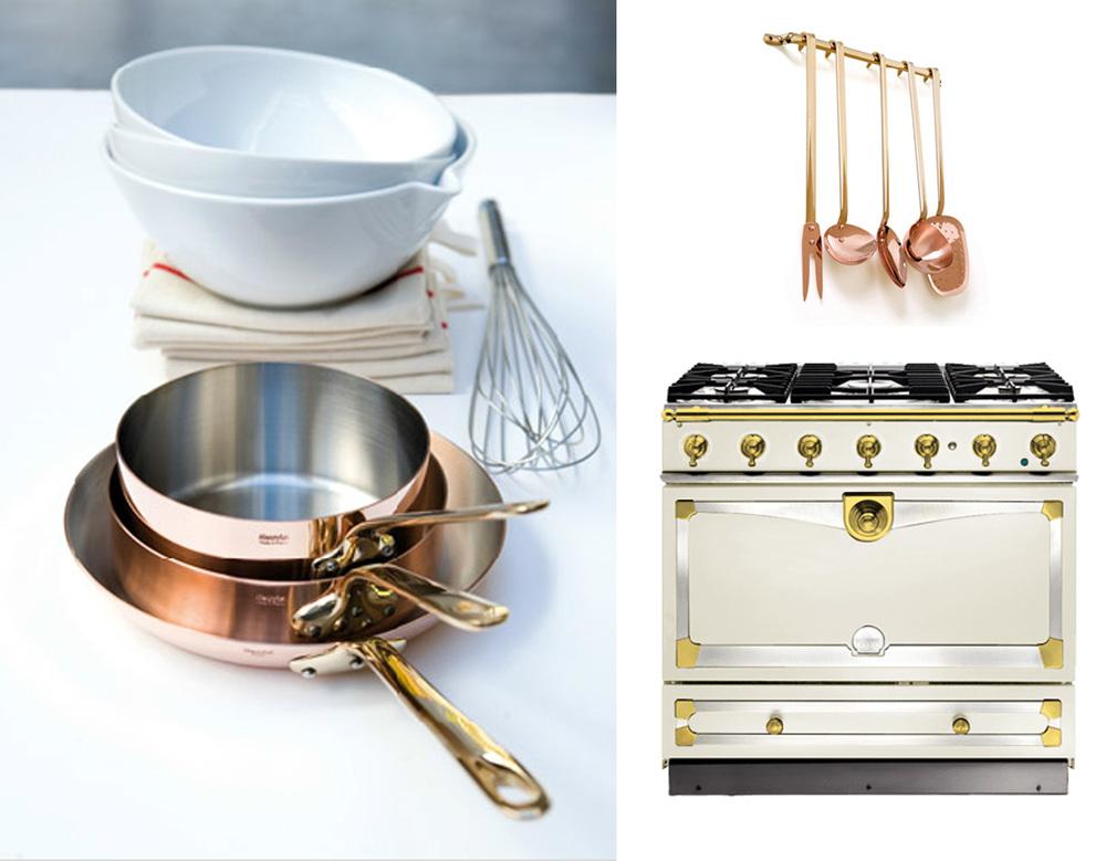pots and pans  Mauviel  - kitchen utilities  Mauviel  - Cooker L a Cornue