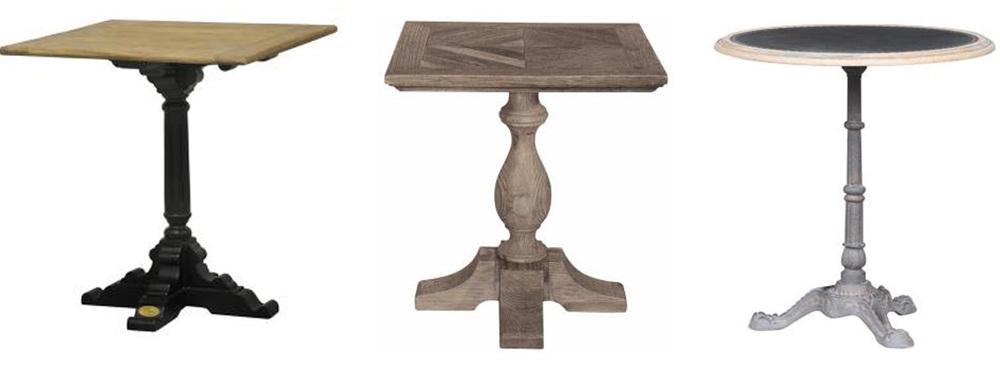 Bistro table  De Kercoet  -  Signature  -  Signature