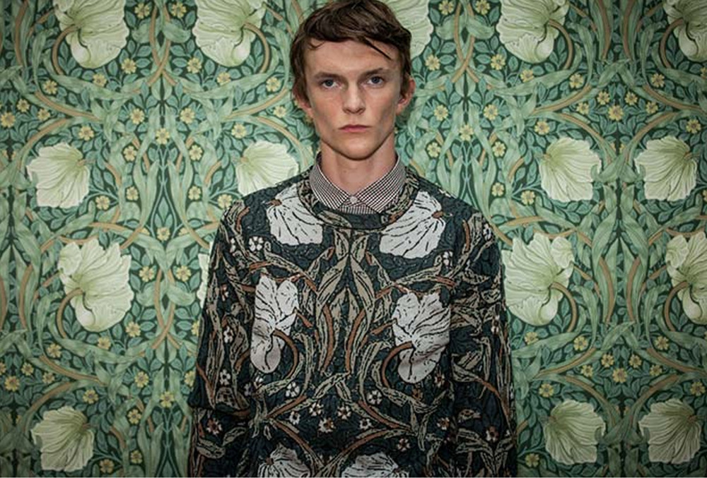 William Morris keeps inspiring fashion - Pringle of Scotland