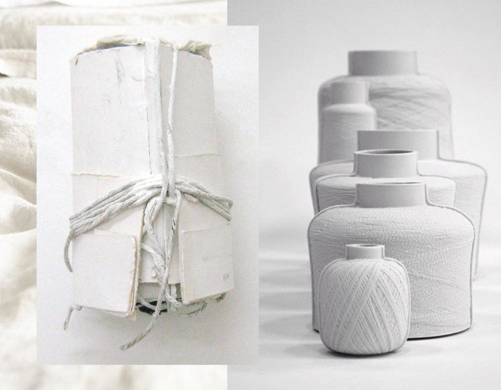 image found on  weissesrauchen  - Spool Vases by Mara Skujeniece  Edwin Pelser