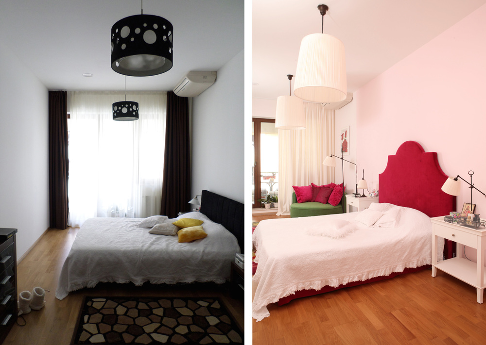 before/after bedroom - image  Casa Lux