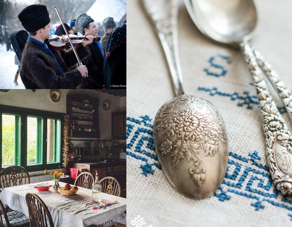 image music player  Diana Chereches  - interior house Maramures via  Instagram  - cutlery via  Miss Mustard Seed