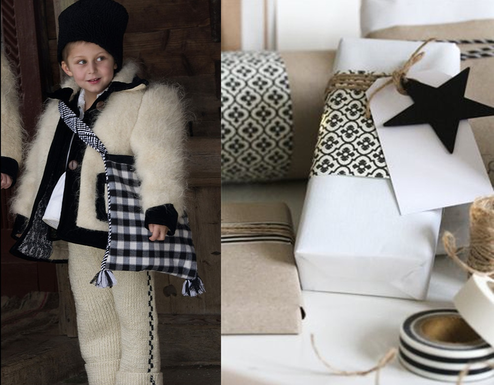 boy from Maramures on Pinterest - wrapping ideas via Makoodle