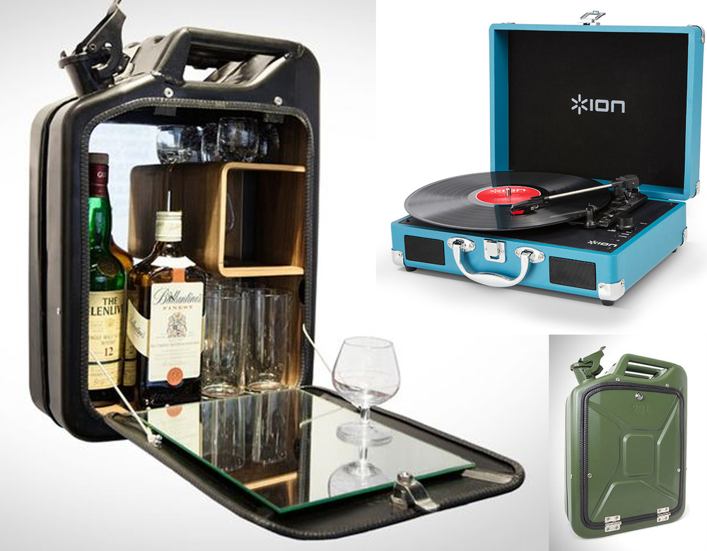barcabinet Danish Fuel - portable suitcase turntable Ion Audio