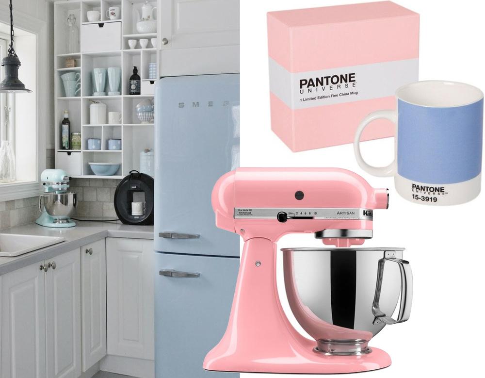 fridge  Smeg  - Pantone  Universe mug -  Kitchenaid