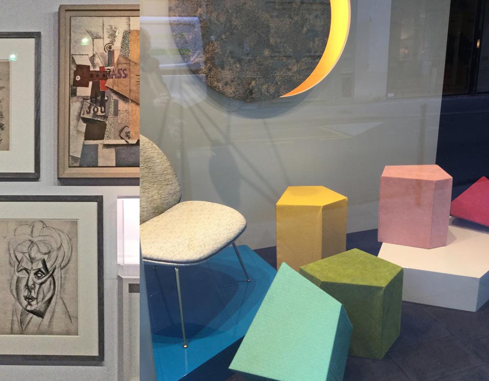 Picasso Mania  - show window  Lelievre