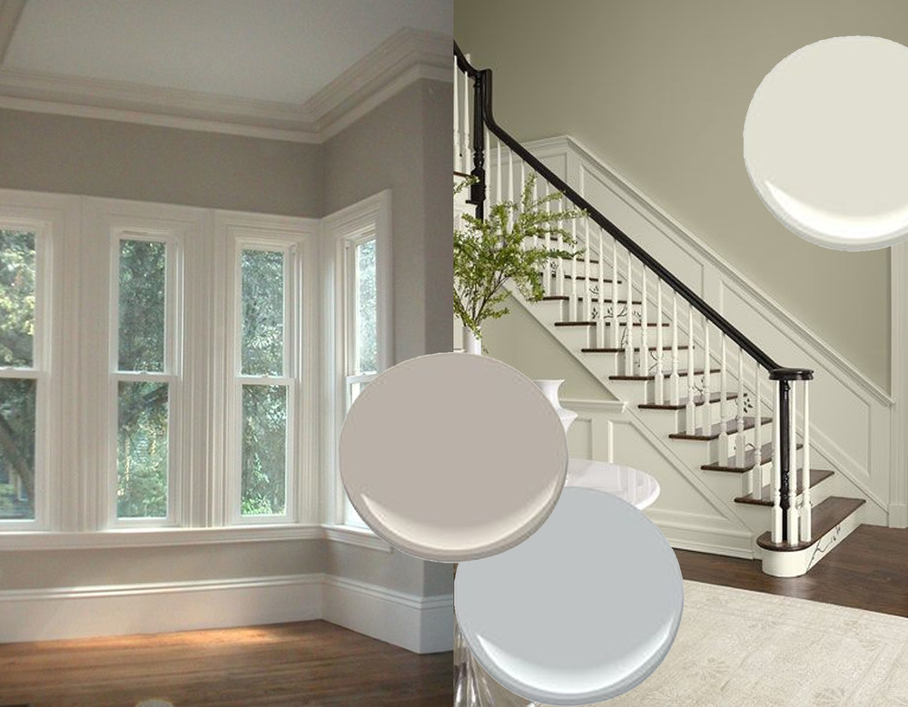 paining the walls in neutral colour - images Pinterest
