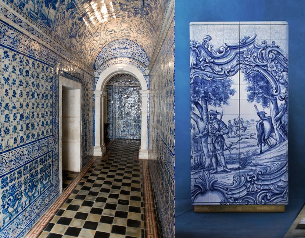 Azulejos Portugal on  Pinterest  - Heritage cabinet  Boca do Lobo