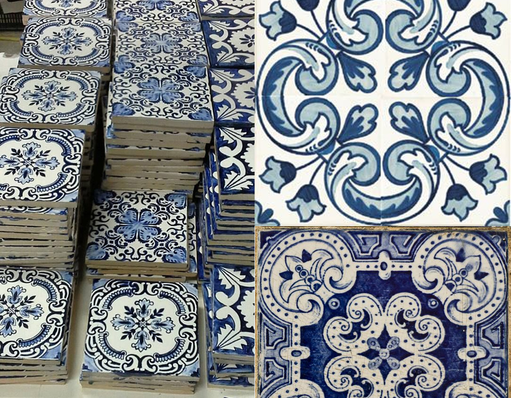 Azulejos found on  Pinterest