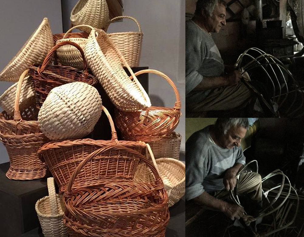 Mesteshukar Butiq  - basket weaver in Covasna area