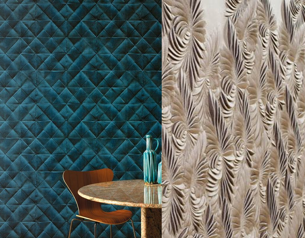 3D effect  Elitis  versus 3D wallcovering  Amy Murray