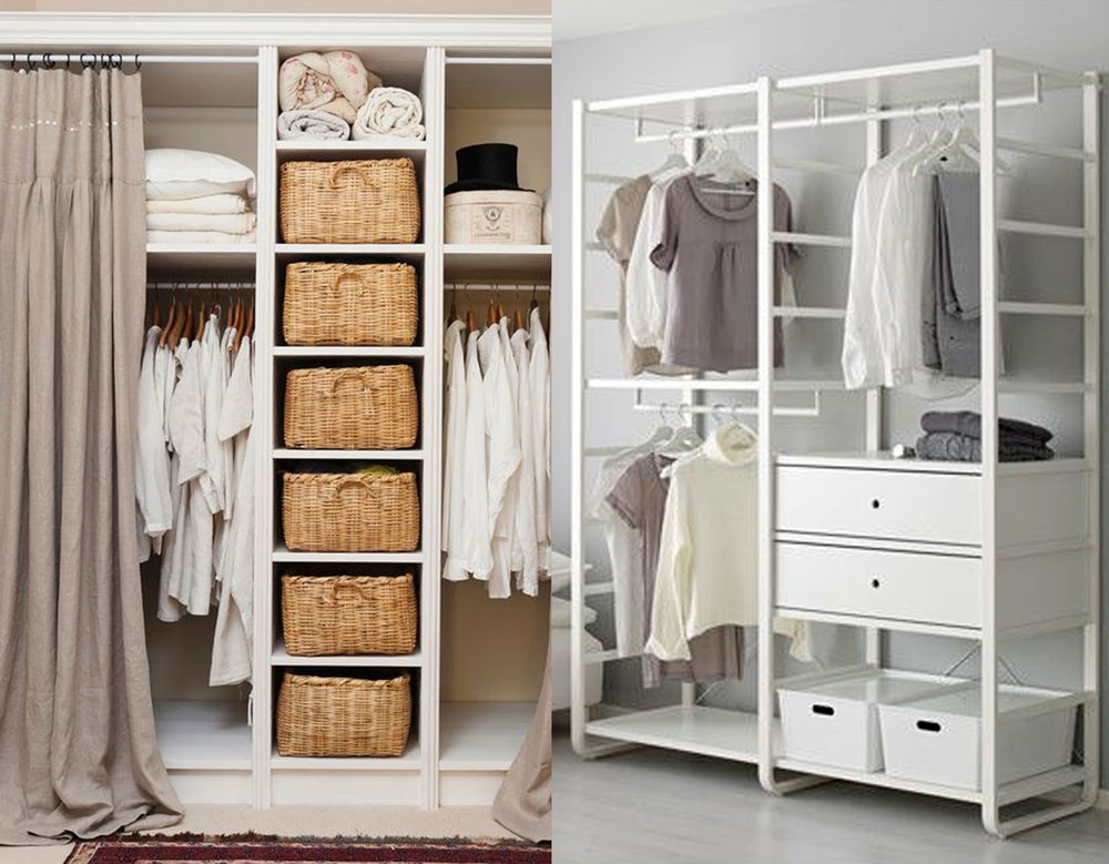 image dressing via  Pinterest  - clothing rack Elvarli  IKEA
