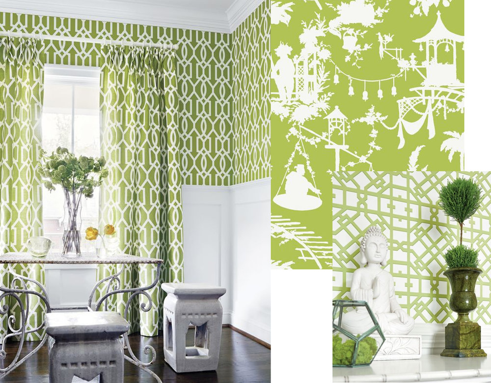 wallpaper Downing Gate  Thibaut  - wallpaper South Sea  Thibaut  - wallpaper Turner  Thibaut