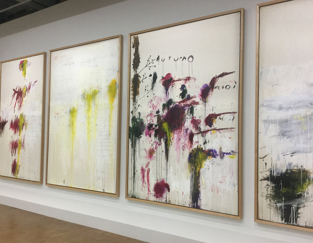 Cy Twombly at Centre George Pompidou