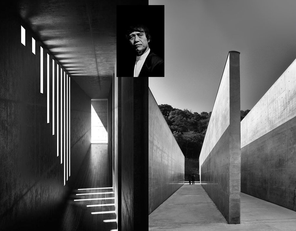 Tadao Ando -  Koshino house via  Archdaily  - Lee Ufan museum