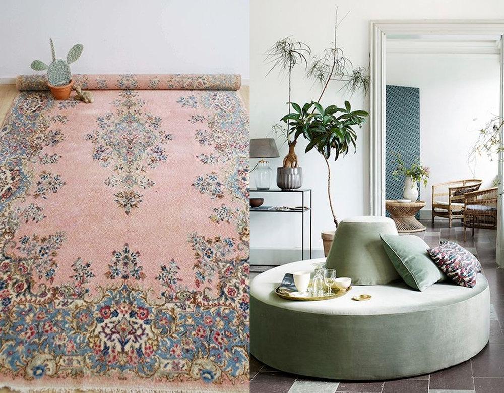 Persian rug via Pinterest - interior design image  Tine K Home