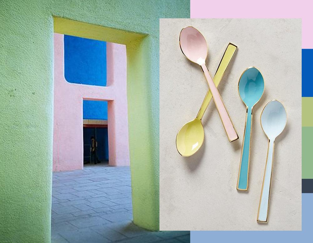 Le Corbusier India via  Flickr  - tea spoons  Antropologie