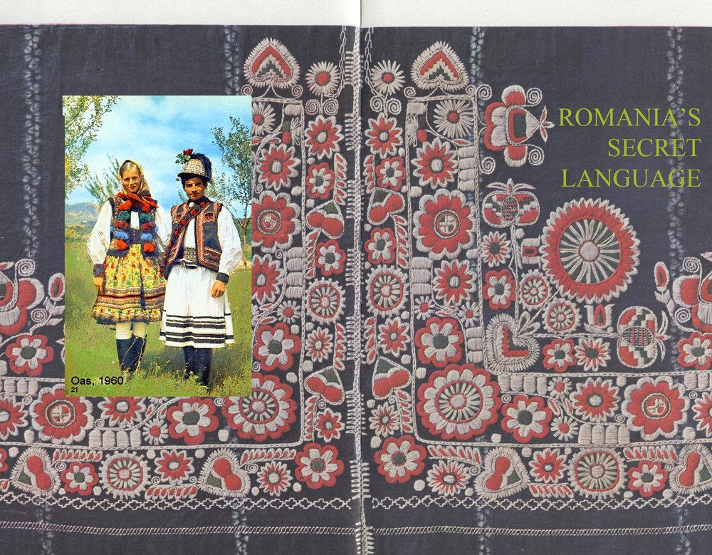 image couple via  Pinterest  - emboidery  Muzeul Taranului Roman