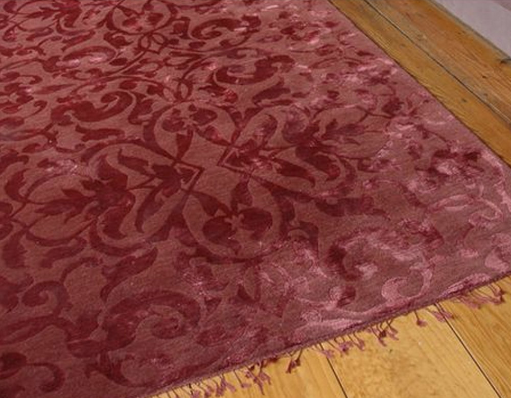 wool - silk rug  Emery & Cie