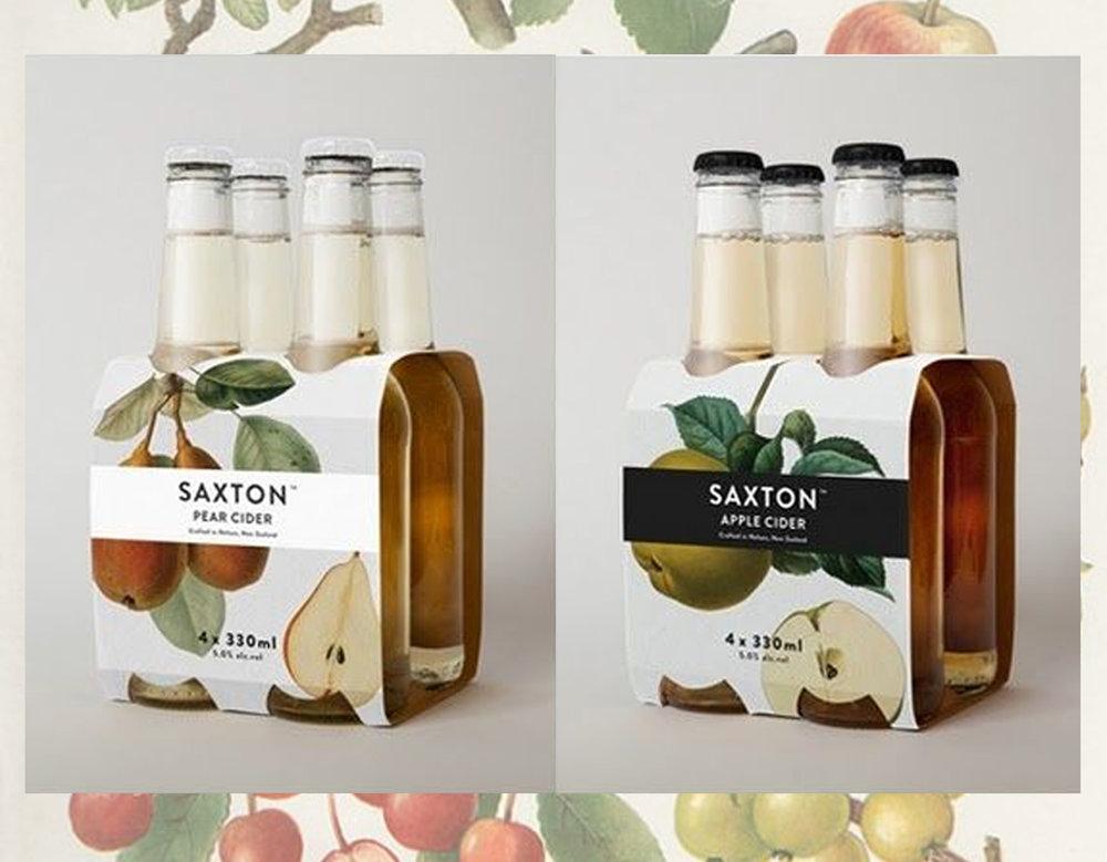 Saxton cider via Bpando