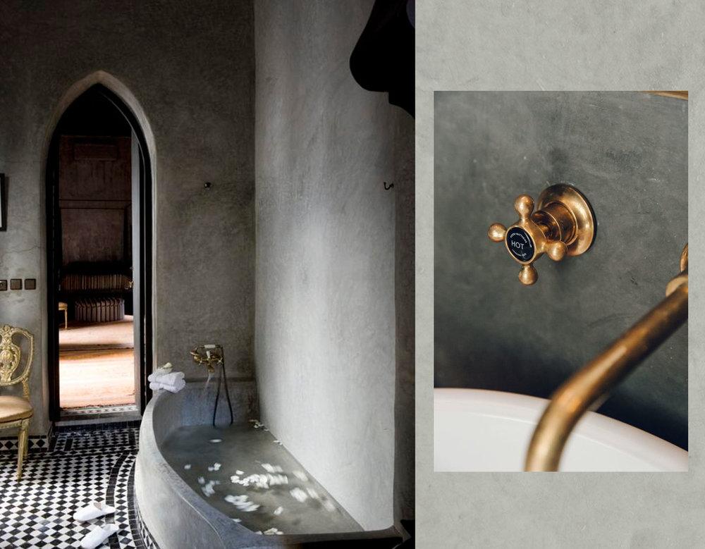 bathroom via Remodelista  - faucet via  Remodelista
