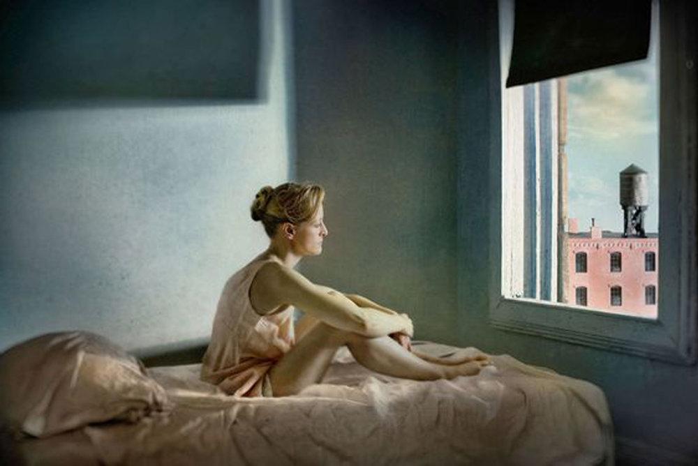 "Richard Tuschman, ""Hopper Meditations"" via  Huffington Post"