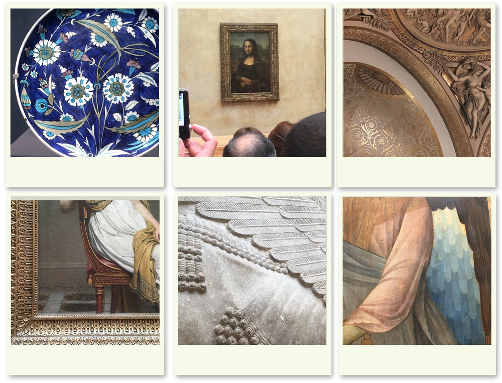 snapshots from the Louvre