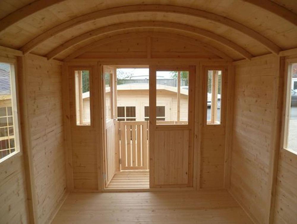 shepherd hut  Tuin
