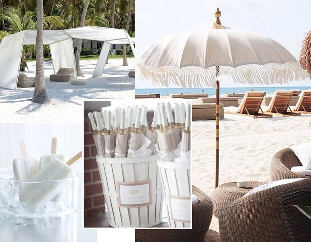 Pavilion  Pala Lenti  - Paper Parasol  Paper Lantern  - beach images via  Hotels  - ice popsicles via  Navy Blue Shoe