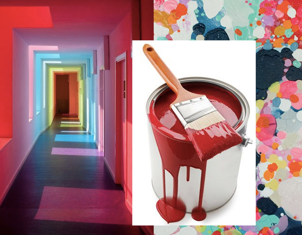 educational center in El Chaparral via  ArchDaily  - paint via  Pinterest  - painting How to Bake a Cake Claire Dejardins  Saatchi Art