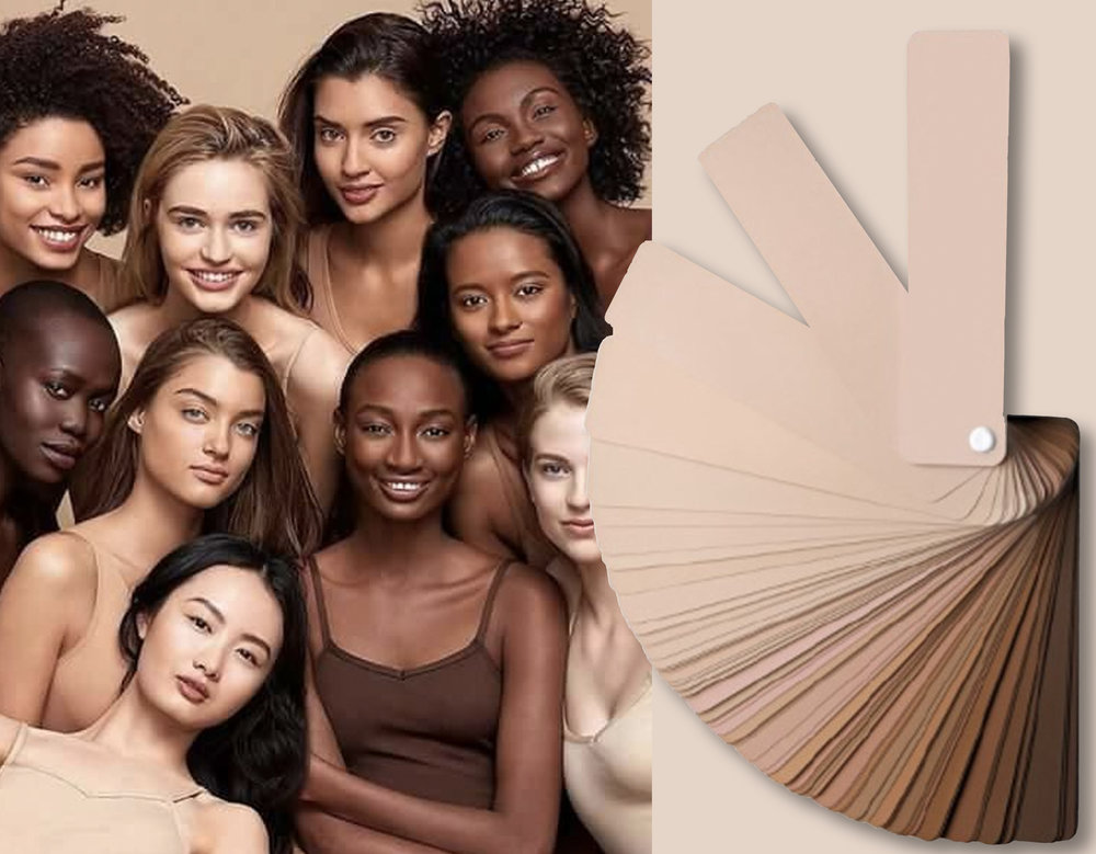 Becca Cosmetics  - skin tones via  Allure