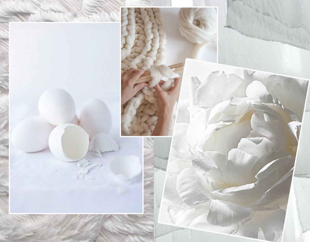 feathers via  Indulgy  - eggs via  Mama Natural  - knitting via  Knitting Noodles  - flower  Estilo Escandinavo
