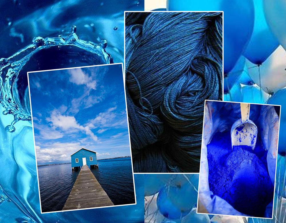 water via  Flickr  - house at lake via  Flickr  - balloons via  Inspolsion  - pigment via  Flickr