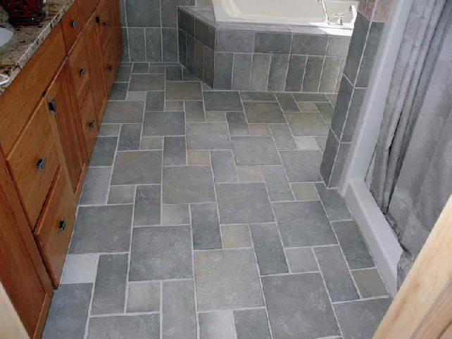 Bathroom Floor Remodel Extraordinary Bathroom Remodel — J & J Carpetology Inspiration Design