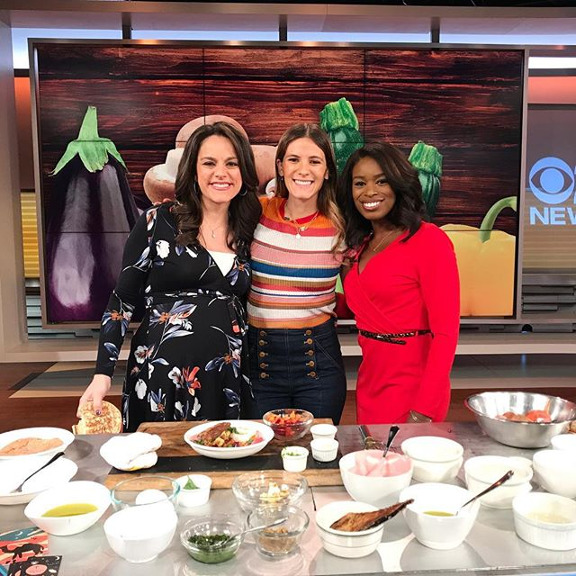 @edeneats kicking off this Saturday morning with @cbsnewyork talking all things brunch at @inthedez ✨✨✨