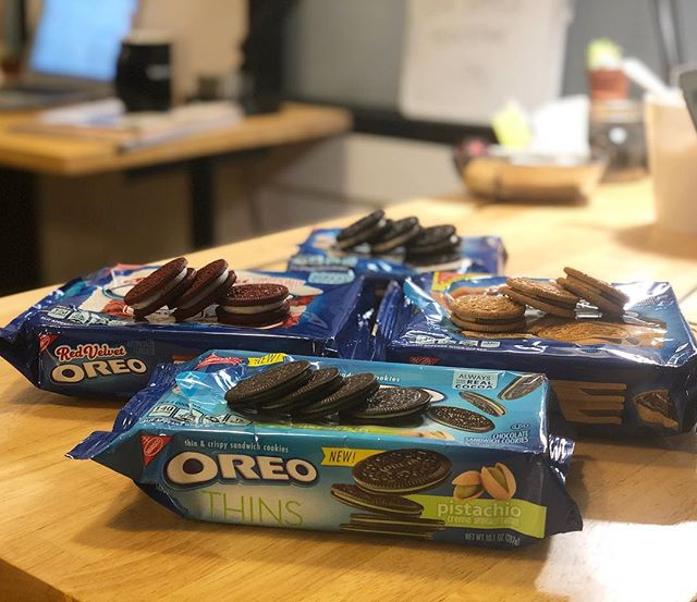 The @oreo obsession is real. Please comment any limited or special edition flavors we should try!! #oreotastetest #bolsterbites