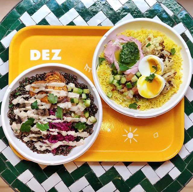 For those of you holding on to your resolutions, head to @inthedez for lunch or dinner for their BYOB (Build You Own Bowl) custom creations!