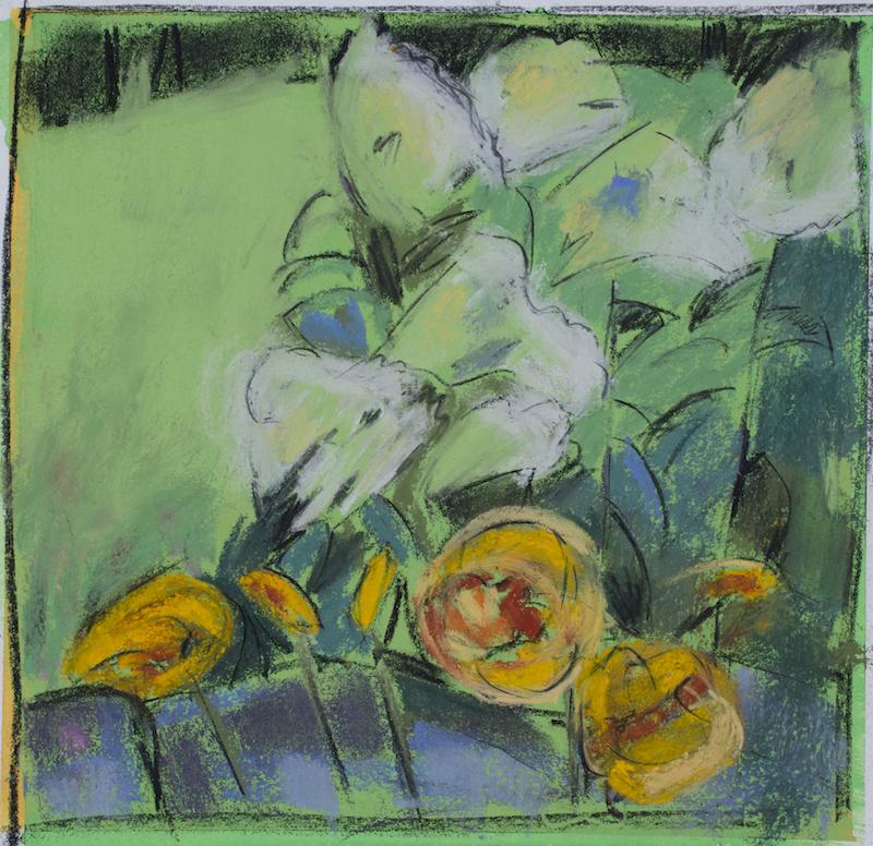 Hydrangea and Daylilies