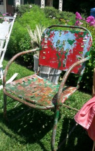 leslieville flea chair