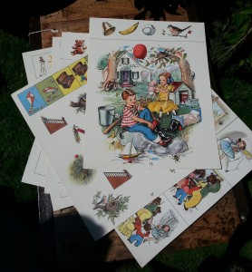 leslieville flea illustrations