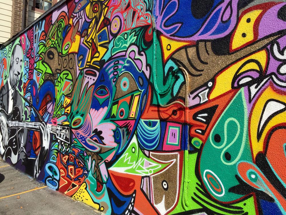 Cask Music mural