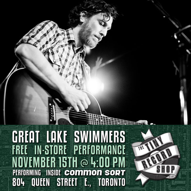great lake swimmers tiny record shop