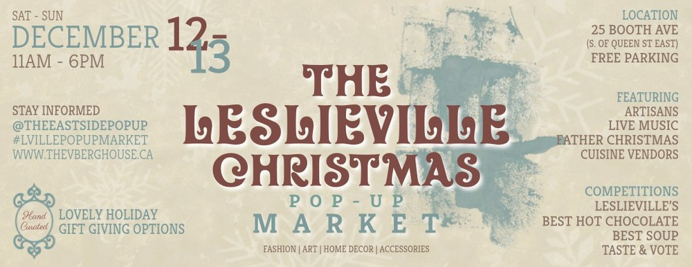 Leslieville Christmas Pop-Up Market